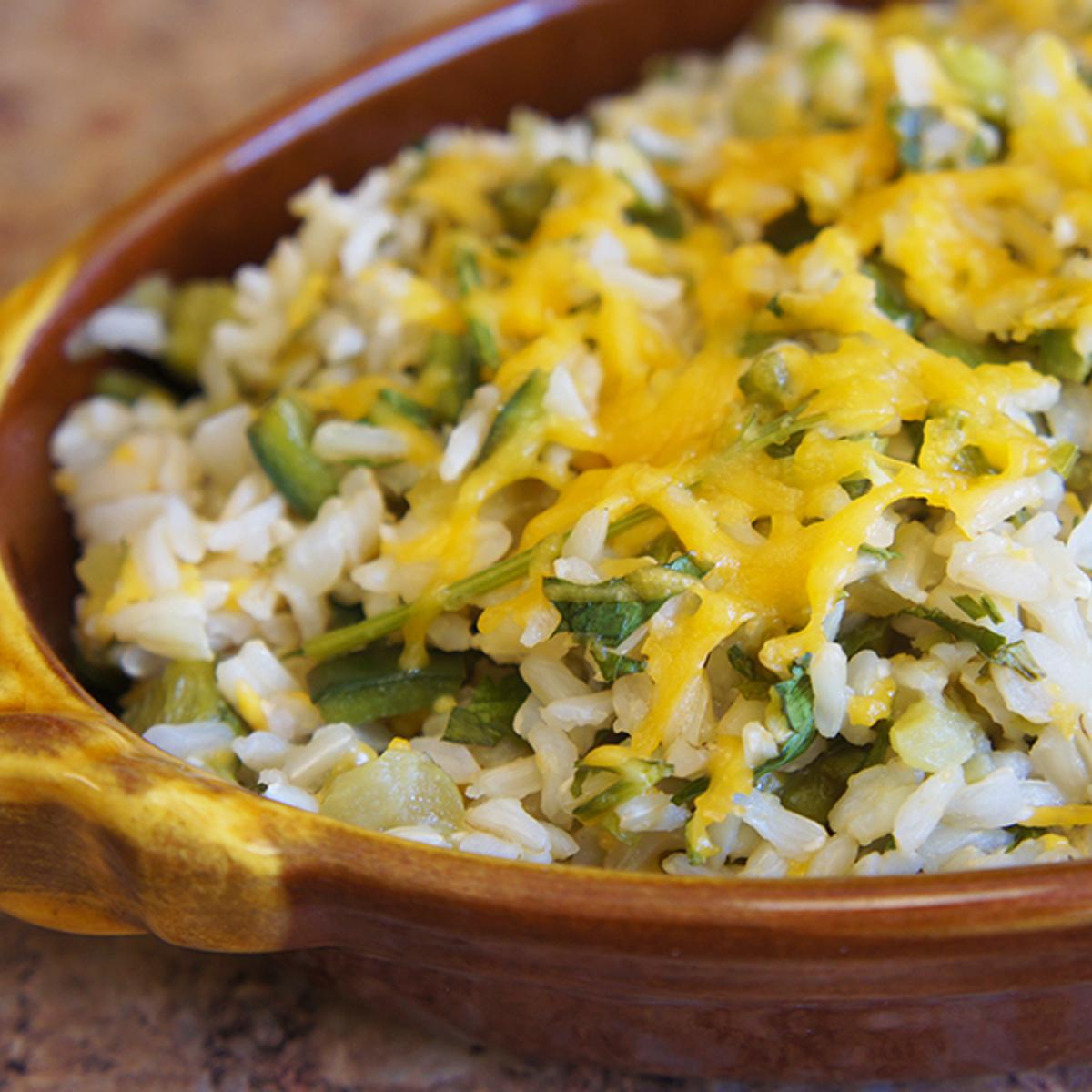 Texmati® Green Rice Recipe