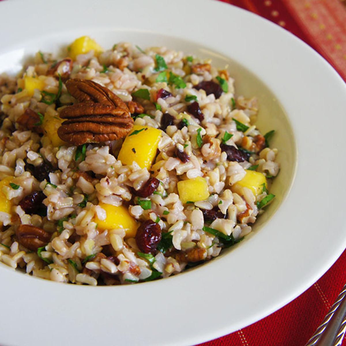 Tutti Fruitti Rice Salad Recipe