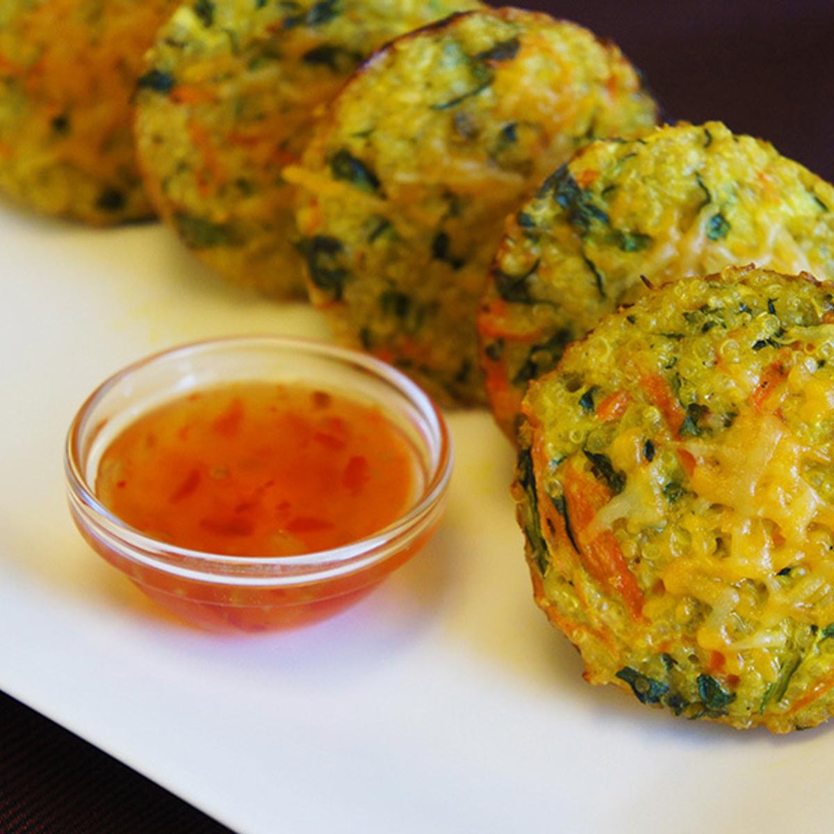 Veggie Quinoa Cakes Recipe