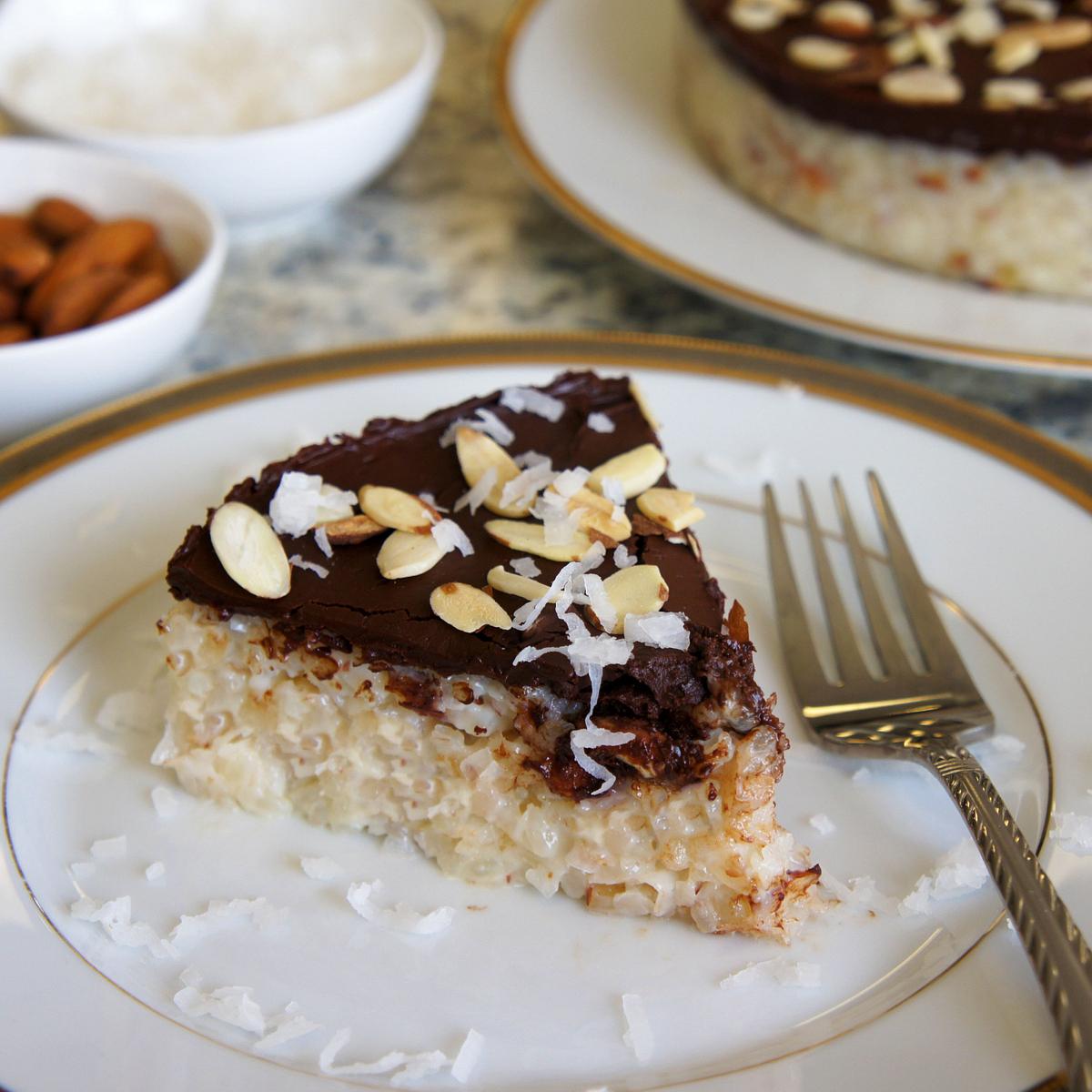 Almond Joy Rice Torte Recipe