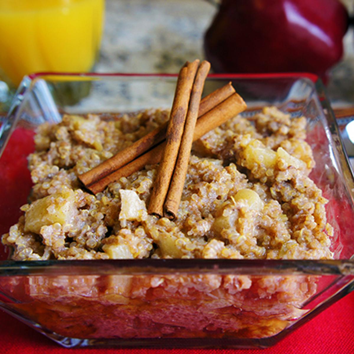 Apple Cinnamon Breakfast Quinoa Recipe
