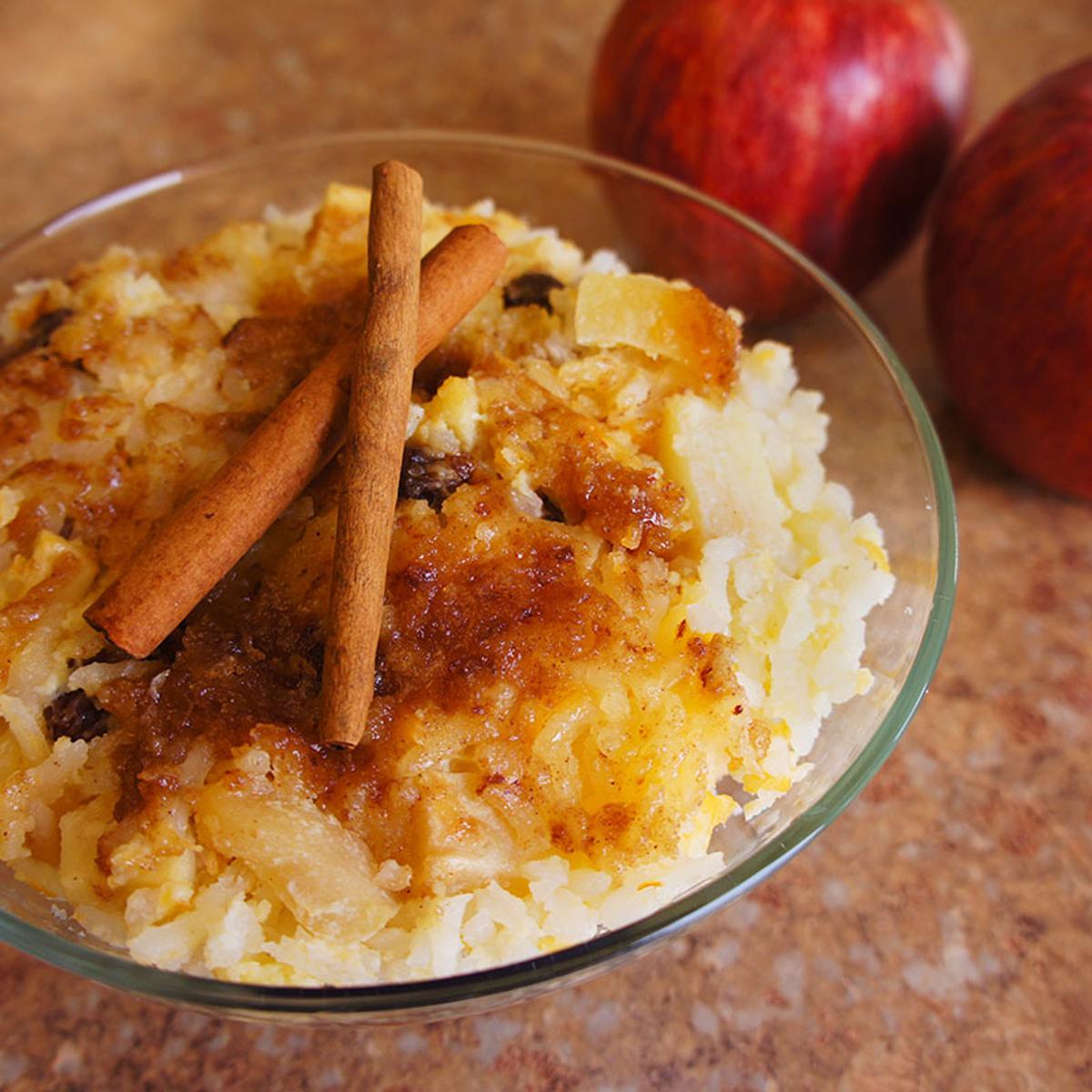 Apple Rice Pudding Recipe