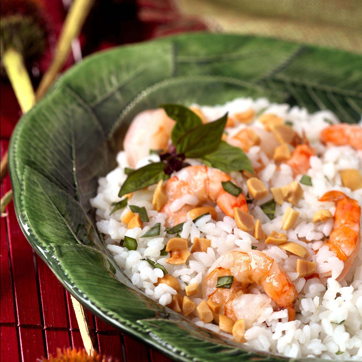 Bangkok Rice & Shrimp Salad Recipe