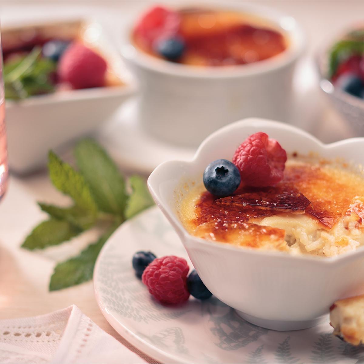 Crème Brûlée Rice Pudding Recipe