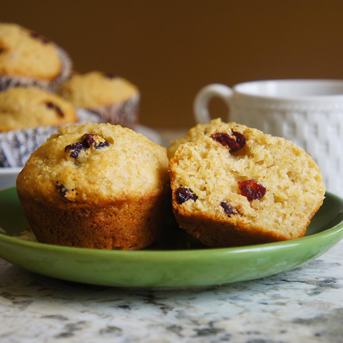 Cranberry Quinoa Muffins Recipe