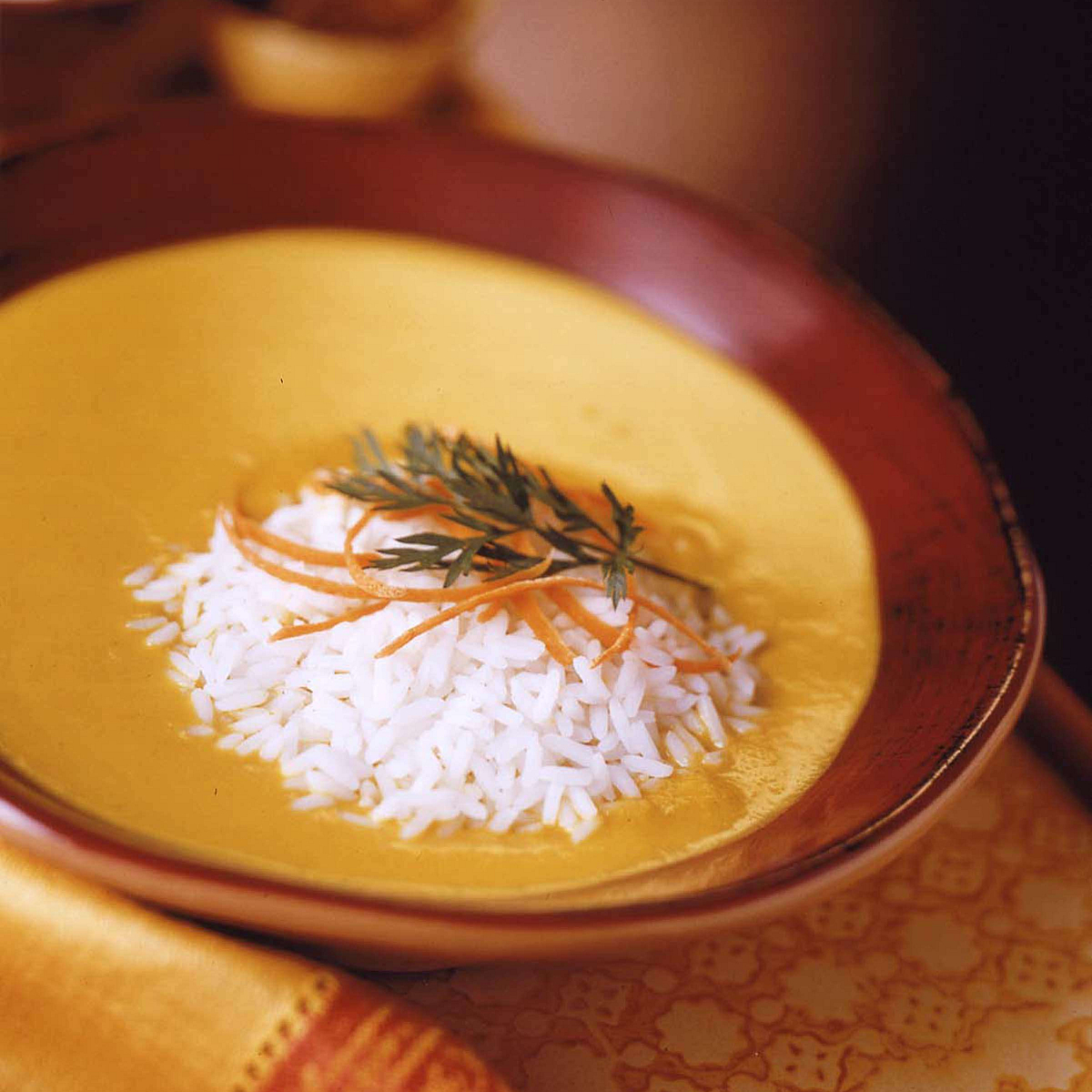 Creamy Curry Carrot Soup Recipe