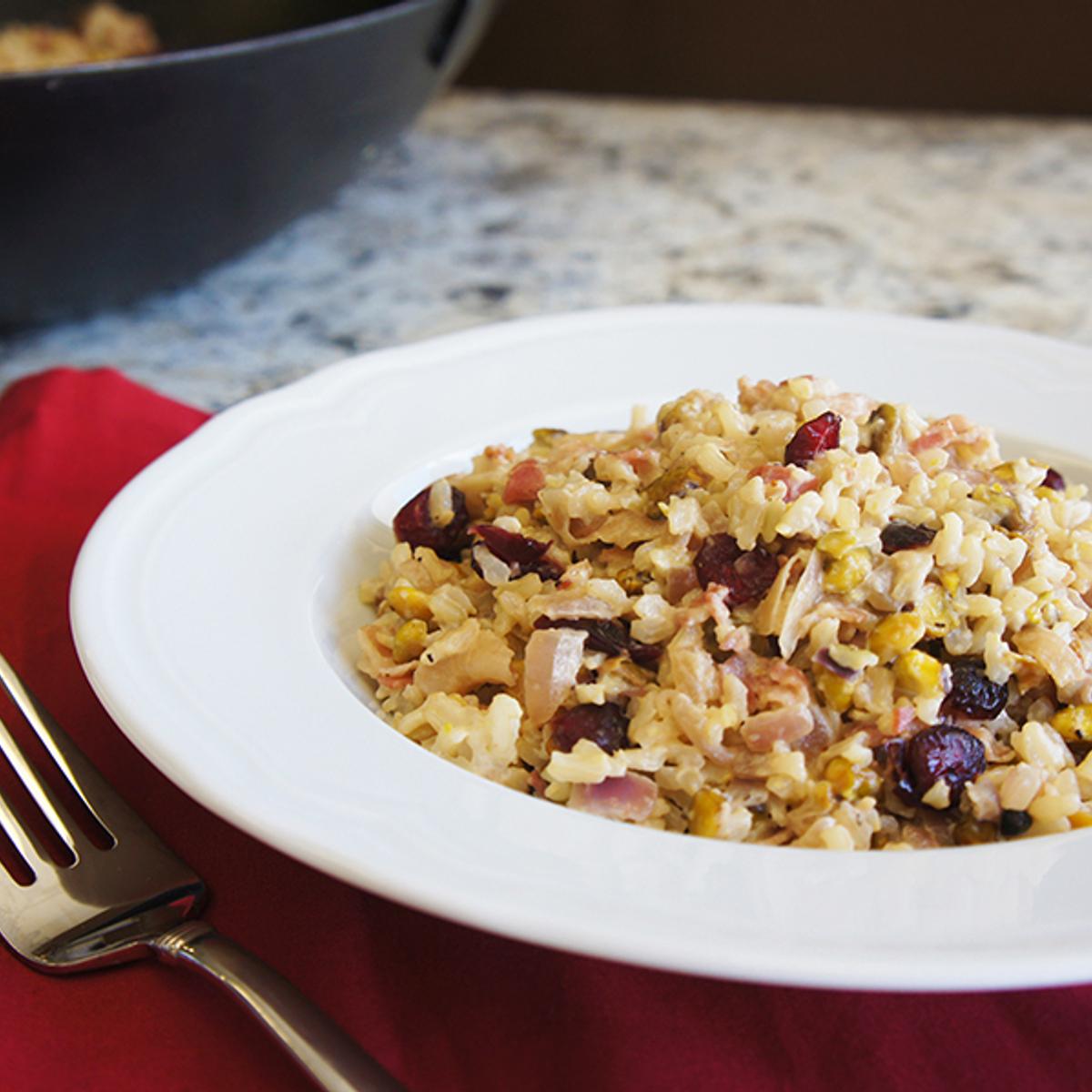 Creamy Pancetta Rice Recipe
