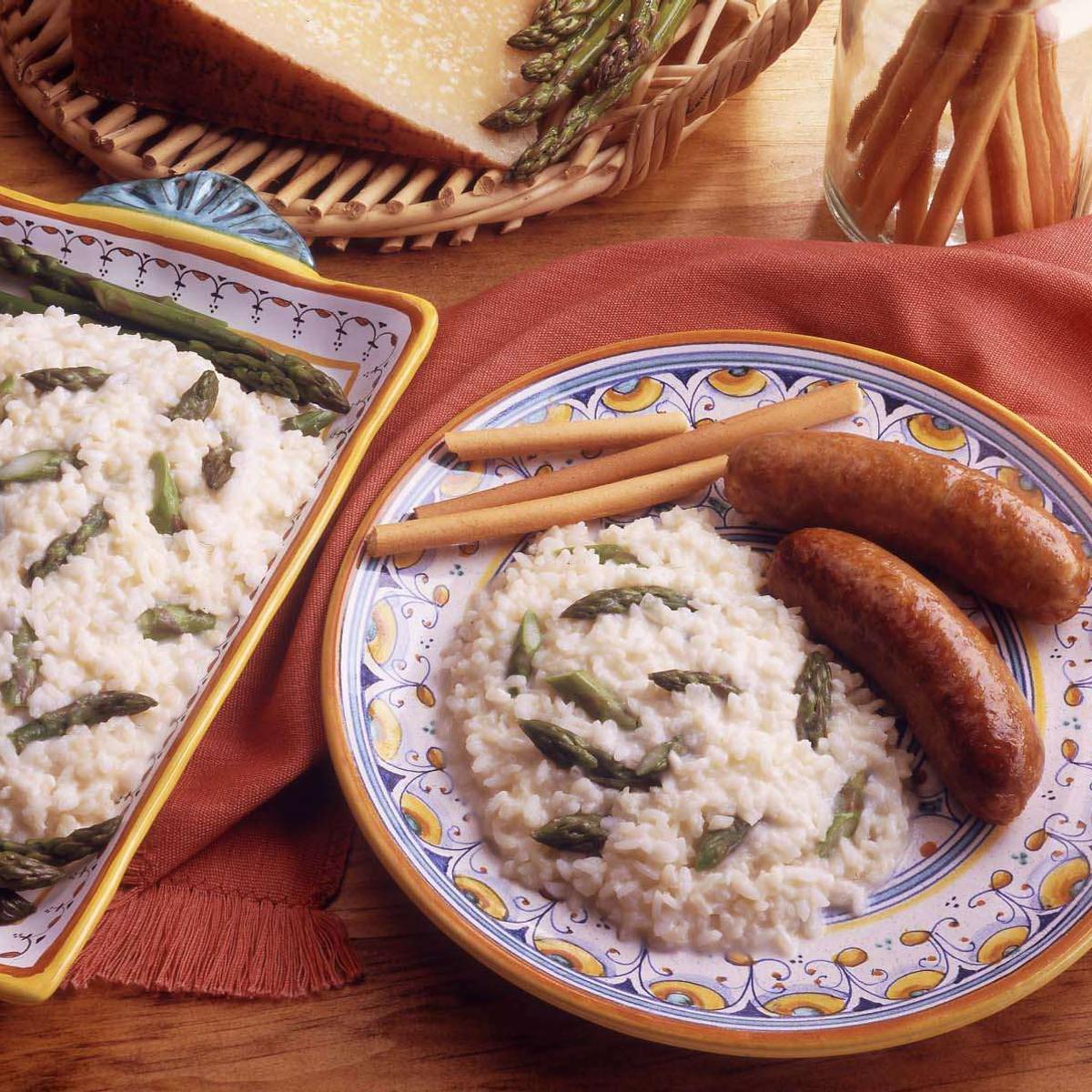 Fresh Asparagus Risotto Recipe