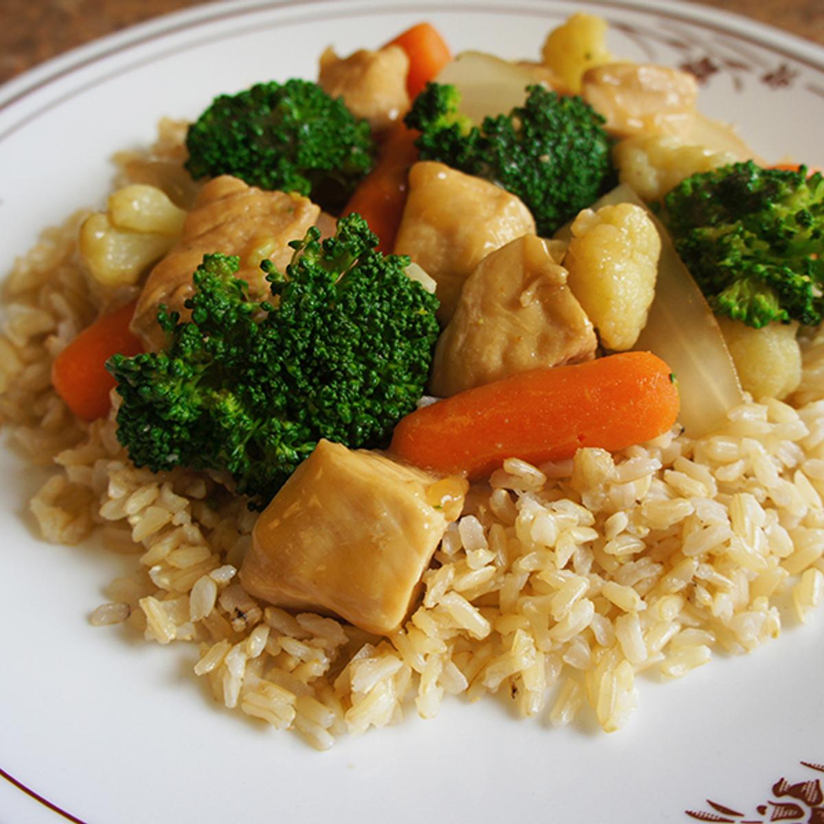 Ginger Chicken Stir-Fry Recipe
