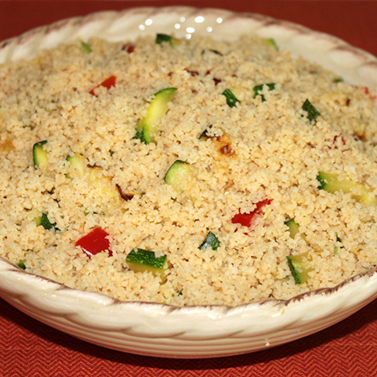 Grilled Vegetable Couscous Recipe