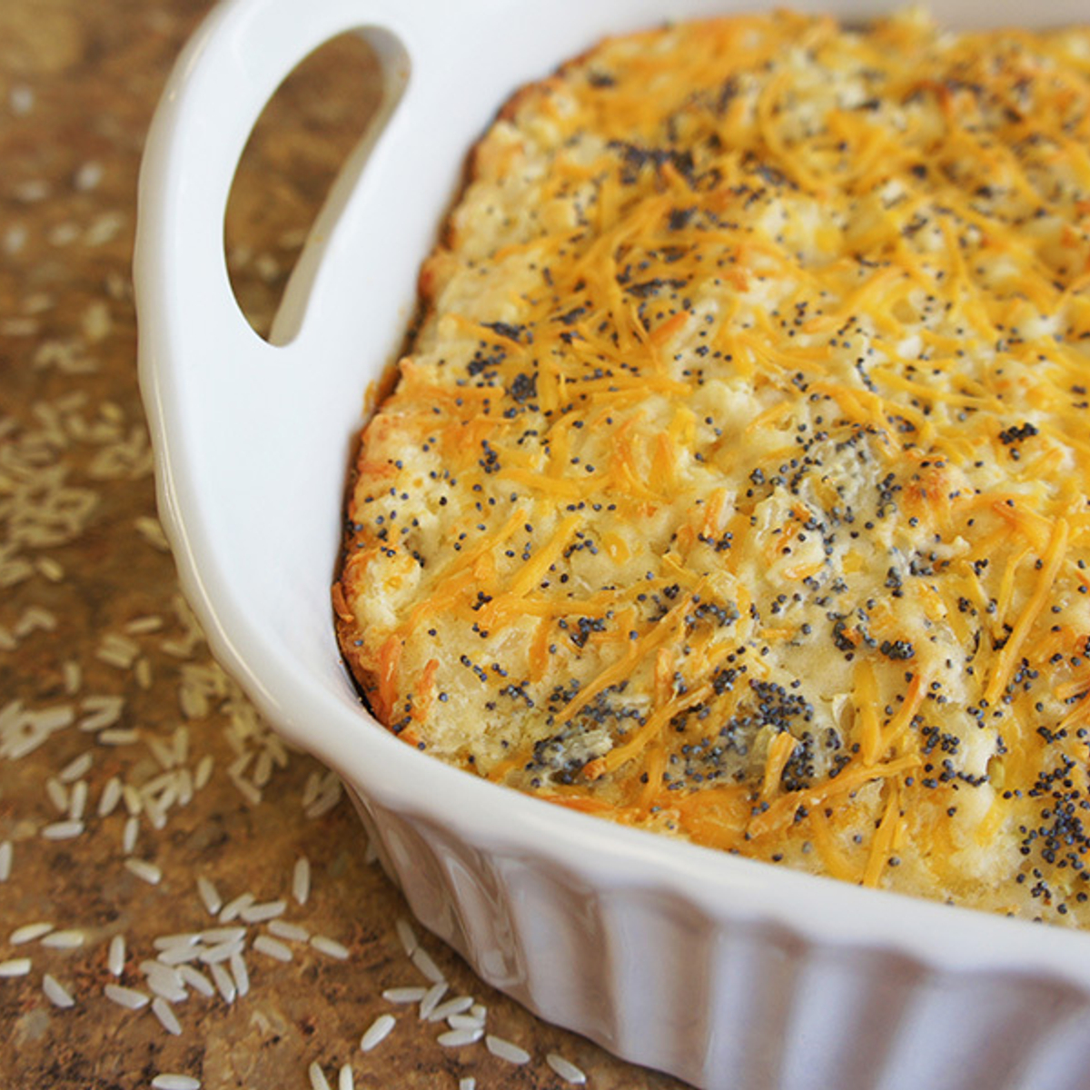 Jasmati® Cheese & Onion Quick Bread Recipe