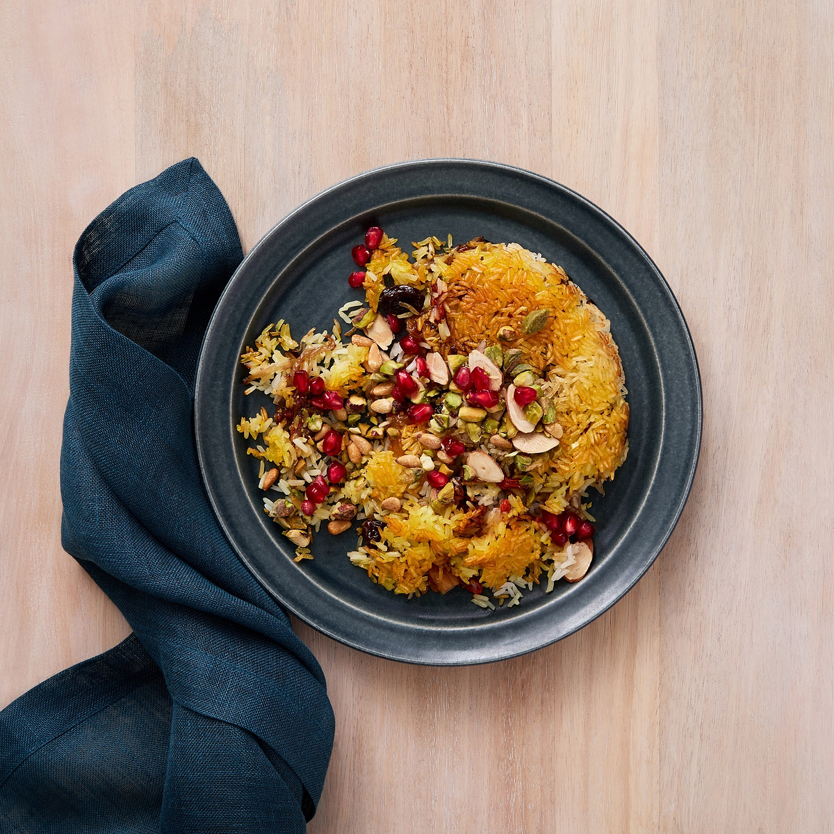 Jeweled Rice with Dried Fruit and Nuts Recipe