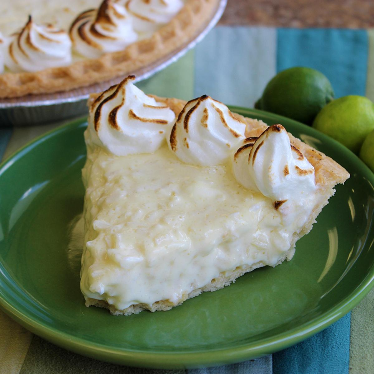 Key Lime Rice Pudding Pie Recipe