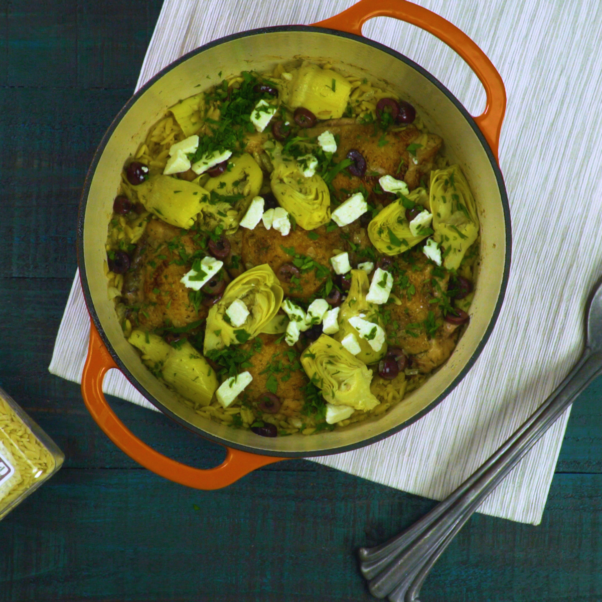 One-Pot Chicken and Orzo Recipe