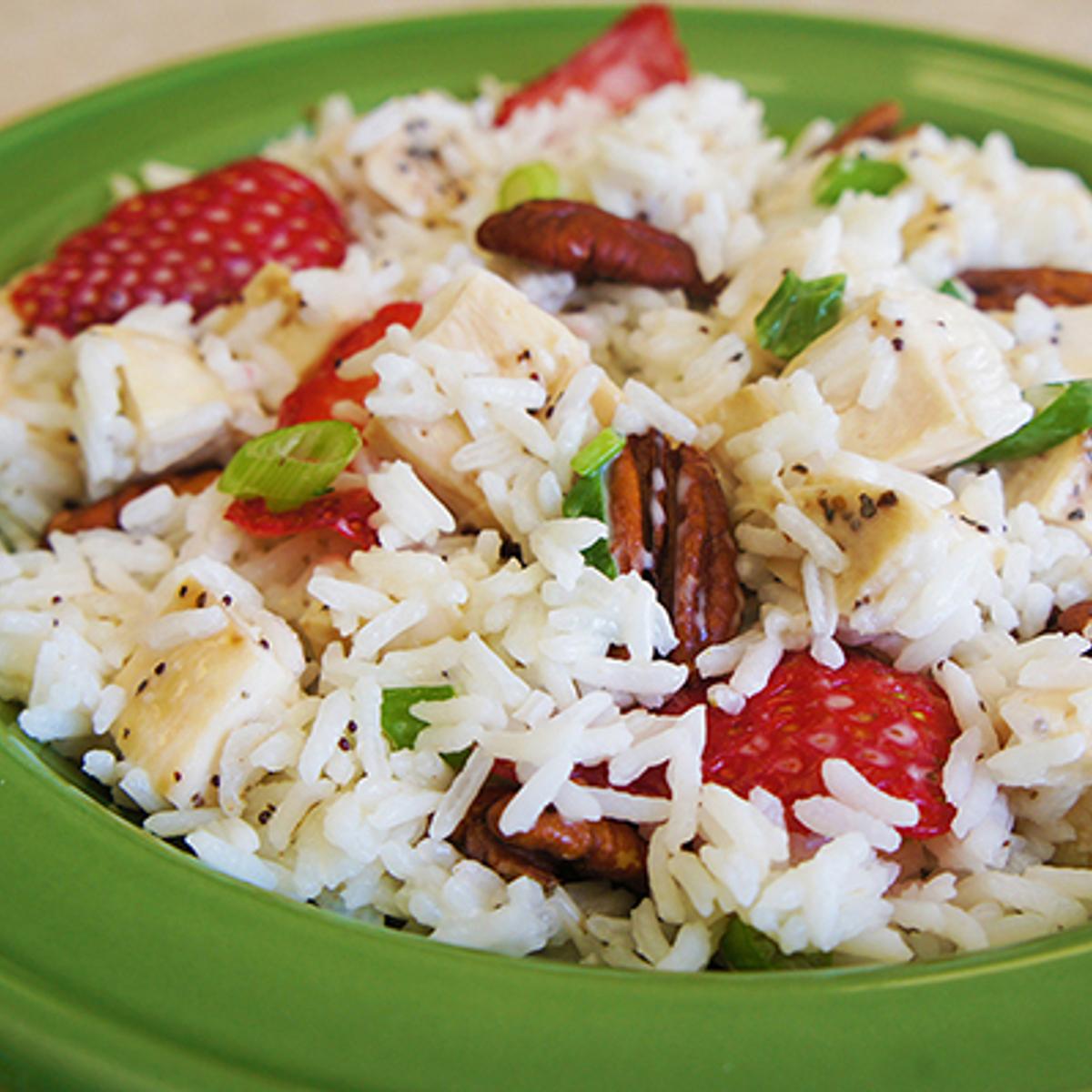 Poppy Seed Chicken & Rice Salad Recipe