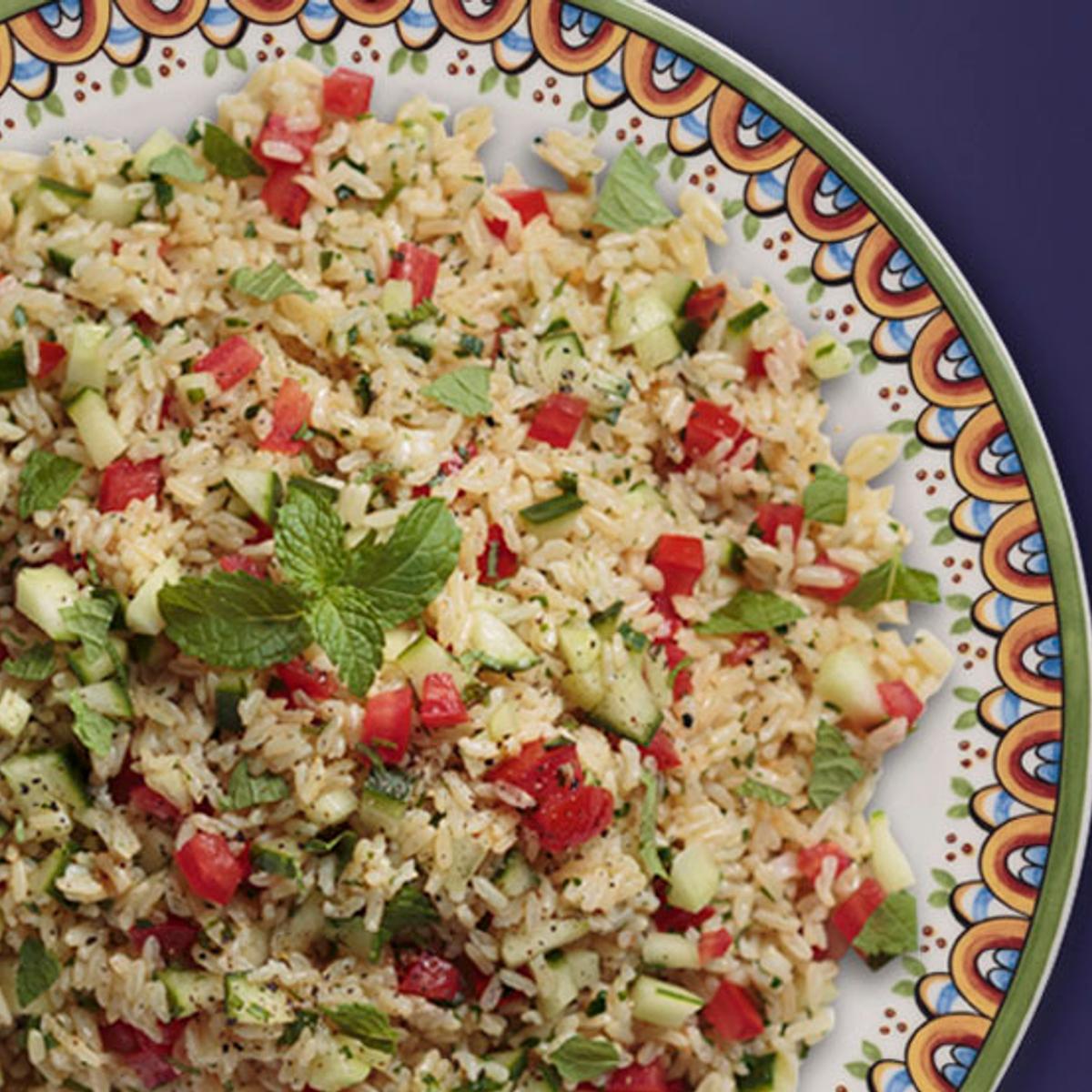 Texmati Rice Tabbouleh Recipe