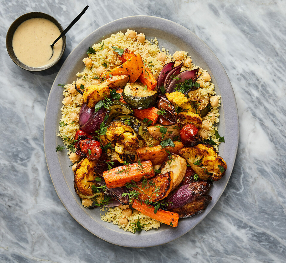 Roasted Seven Vegetable Couscous