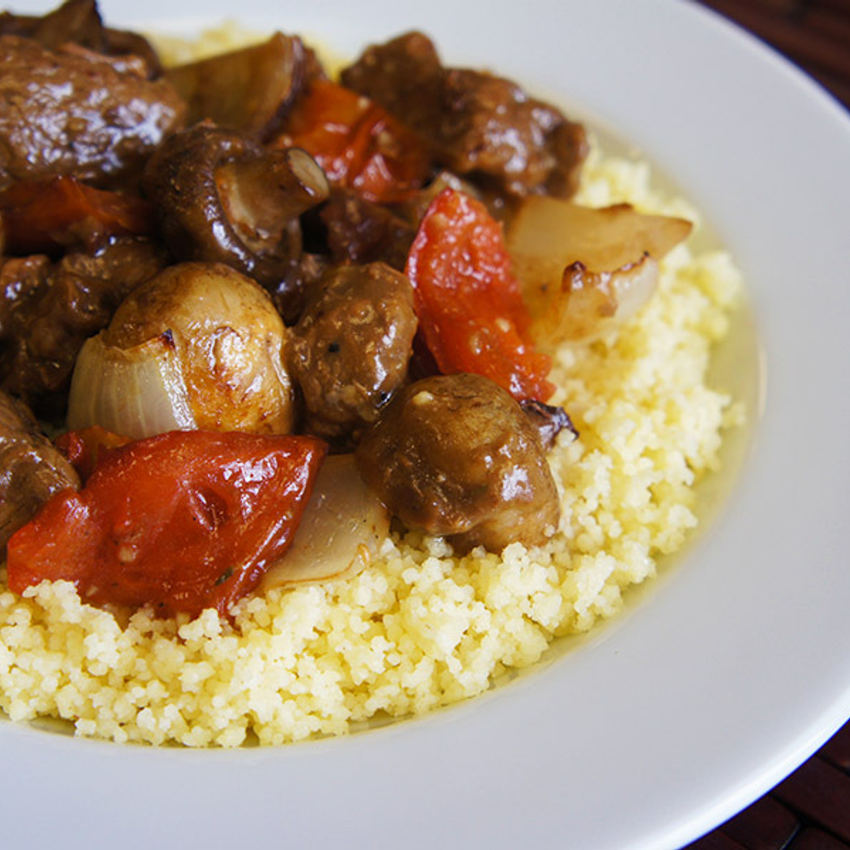 Savory Beef Stew with Roasted Vegetables Recipe