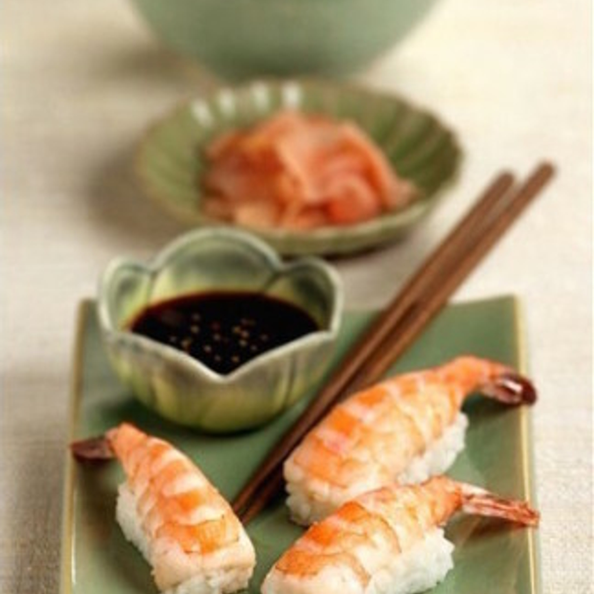 Shrimp Finger Sushi Recipe