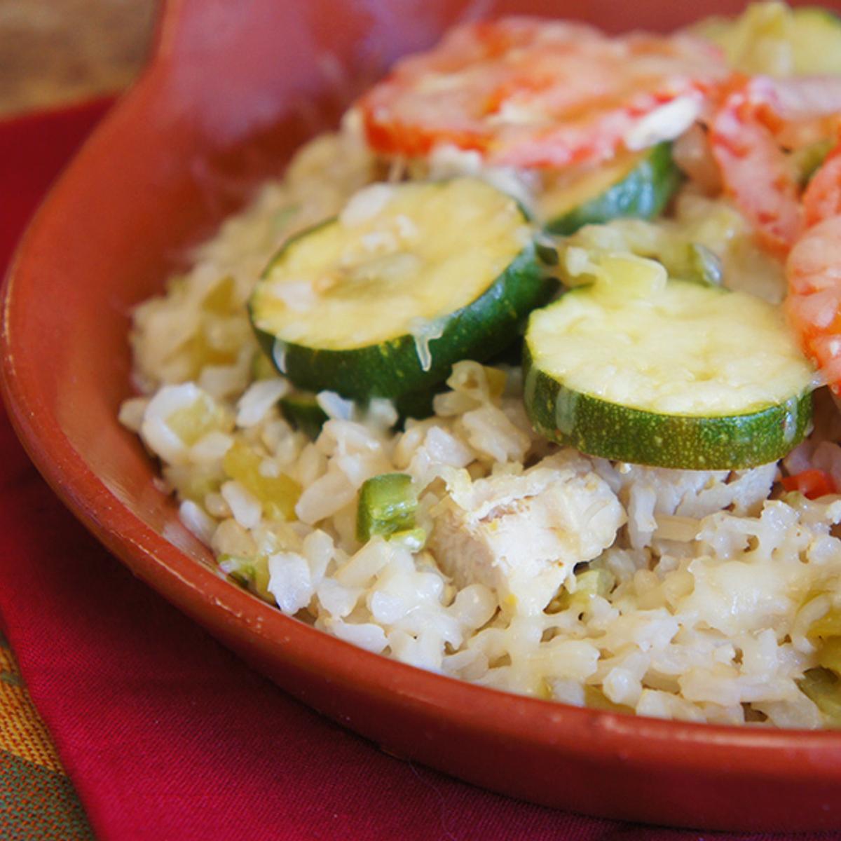 Southwest Chicken & Rice Casserole Recipe