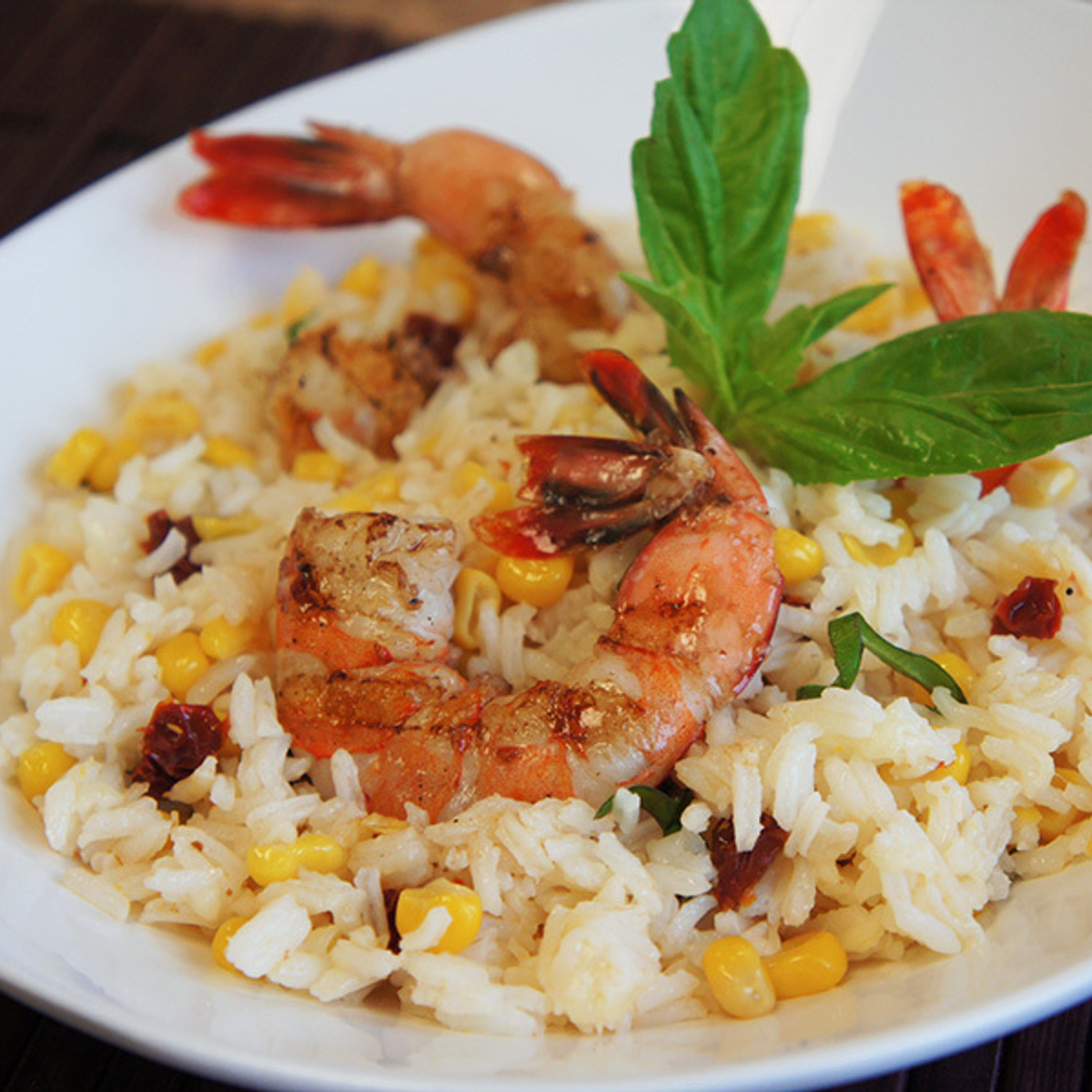 Summertime Shrimp & Rice Bowls Recipe